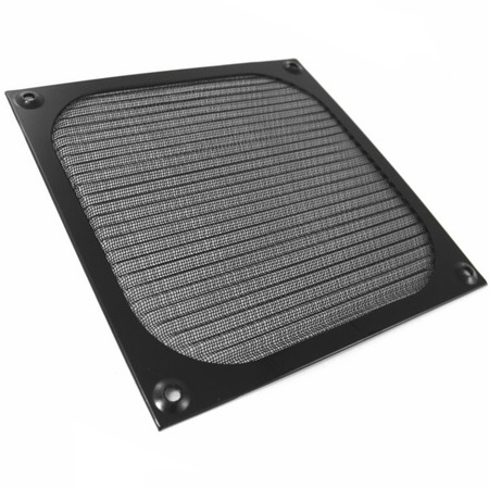 AAB Cooling Aluminum Filter / Grill 120 Black