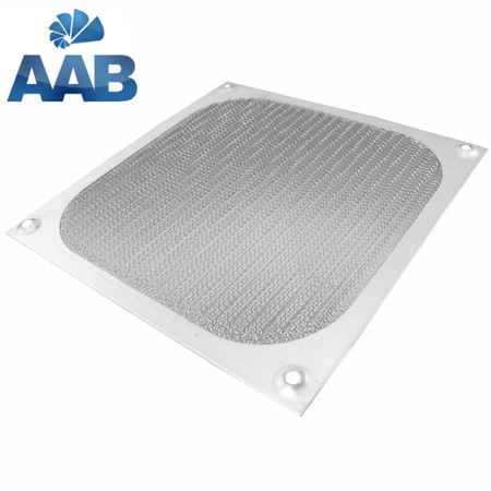 AAB Cooling Aluminum Filter / Grill 120mm Silver