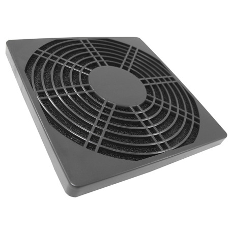 AAB Cooling Plastic Filter 140 Black