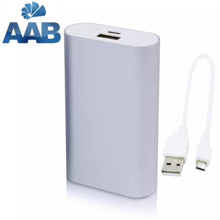 NonStop PowerBank Allu Silver 5200mAh