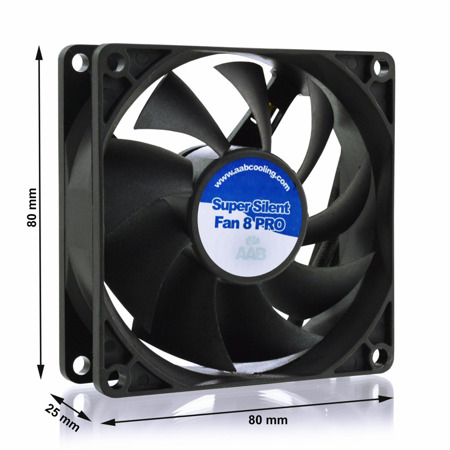 AAB Cooling Super Silent Fan 8 Pro