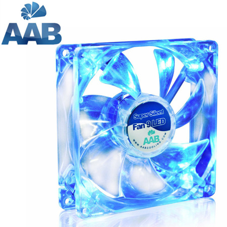 AABCOOLING Super Silent Fan 9 BLUE LED