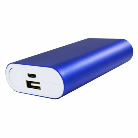 NonStop PowerBank Allu Blau 5200mAh