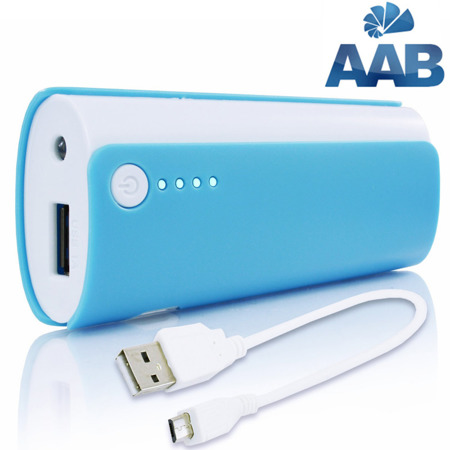 NonStop PowerBank Ammo Blau 4800mAh