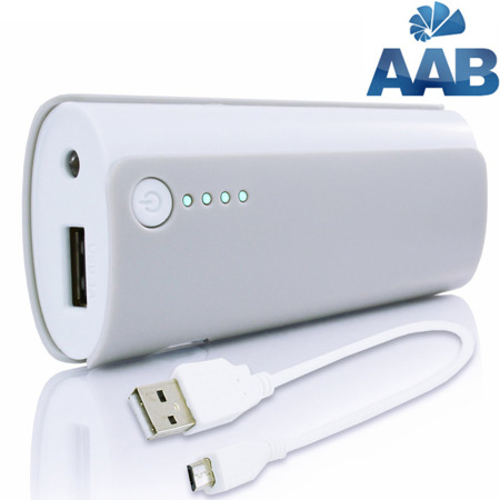NonStop PowerBank Ammo Grau 4000mAh