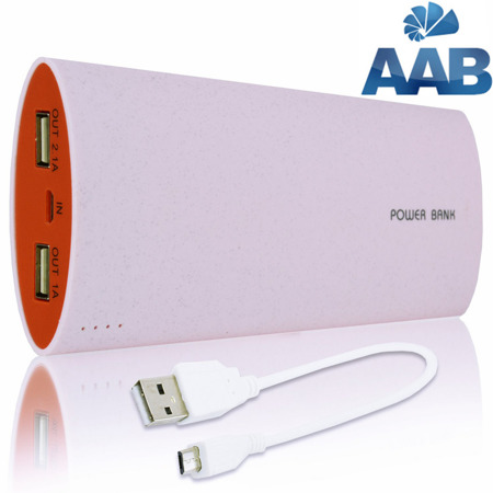 NonStop PowerBank Herro Rosa 15600mAh