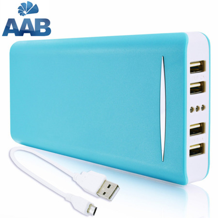 NonStop PowerBank Sella Blau 20800mAh